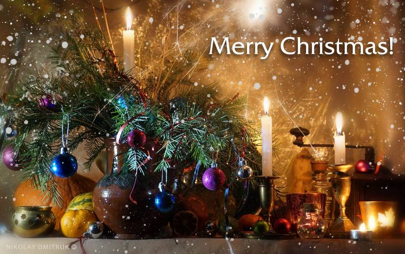 натюрморт с Рождеством!photo preview