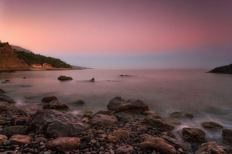 море, утро, рассвет Перед восходомphoto preview