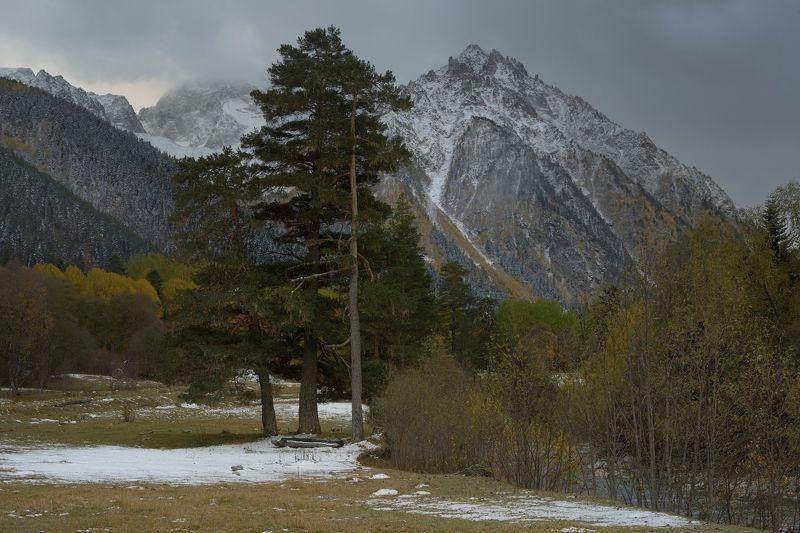 горы осень аксаут кавказ Осень в горах Кавказаphoto preview
