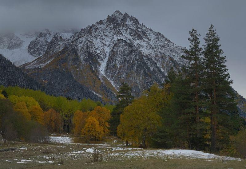 горы осень аксаут кавказ Осеньphoto preview