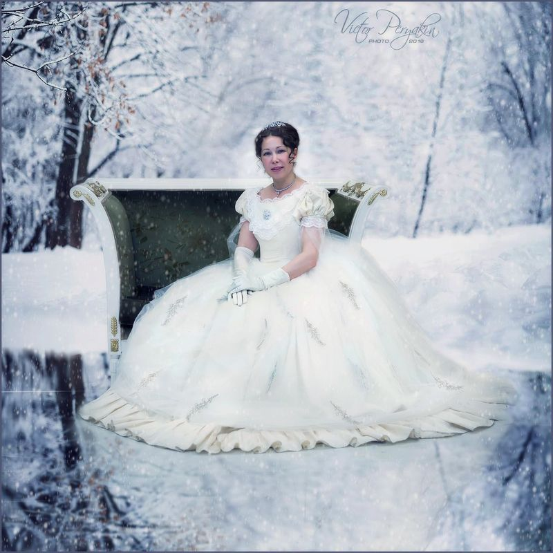 Сказки зимнего леса...photo preview