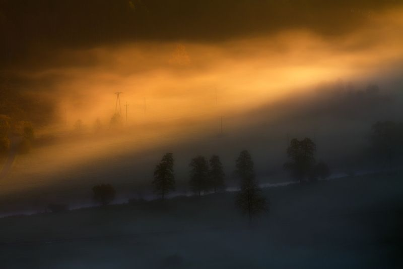 landscape,canon,mist,light,autumn A Sudden Softness...photo preview