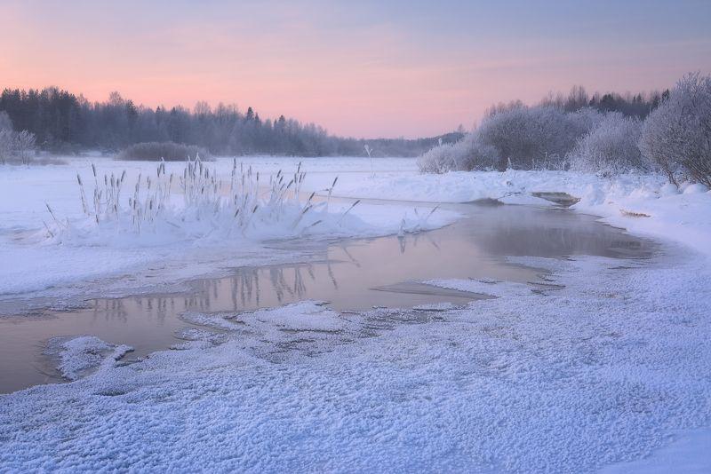 Морозный январь на Виксеньге...photo preview