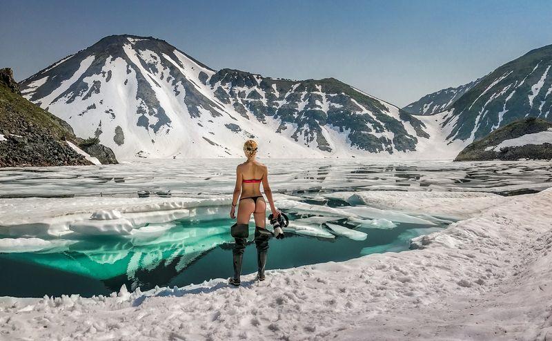вулкан,камчатка,Бакенинг,пейзаж,лед,снег,кальдера,россия,фототур,природа В сердце Камчаткиphoto preview
