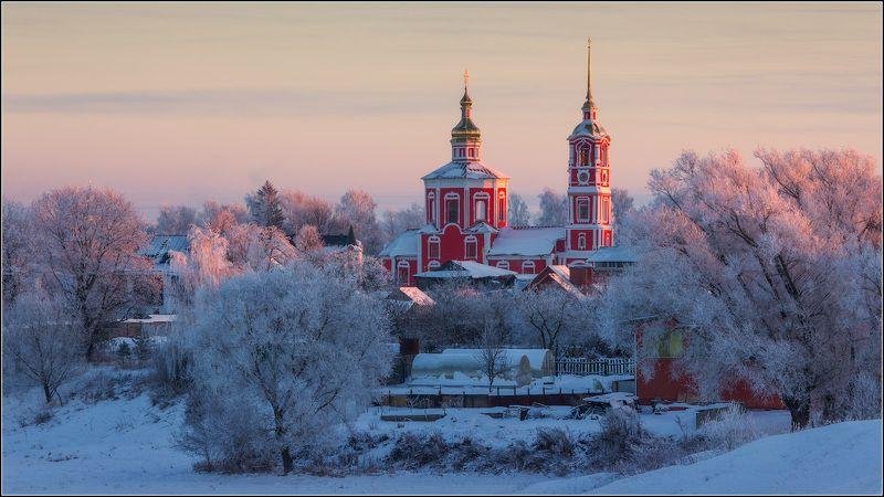 россия, владимирская обл, суздаль Зимний день к концу подходитphoto preview