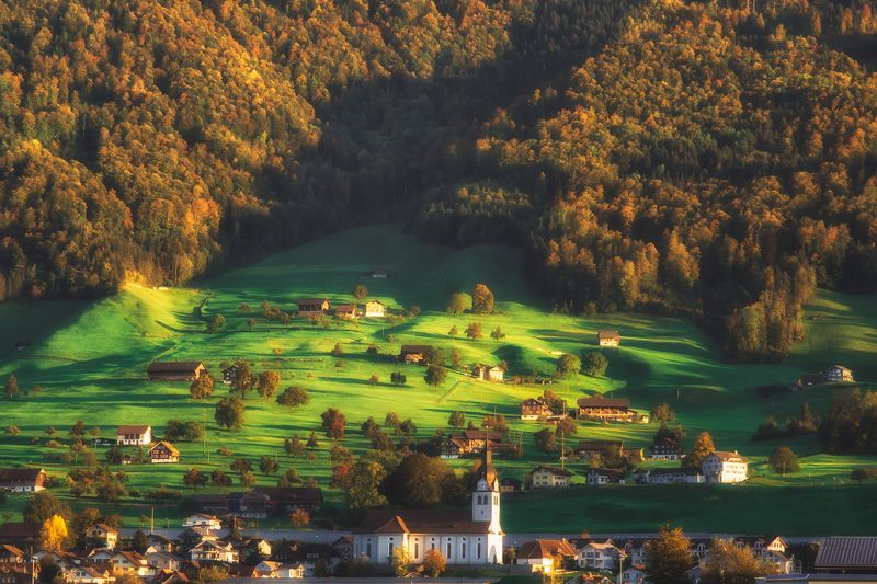 switzerland,landscape,light,kerns,swiss,пейзаж Super Mario Land photo preview