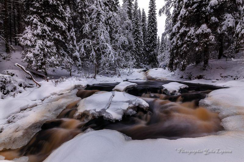 путешествия,пейзаж,природа,река,карелия,зима,красота \