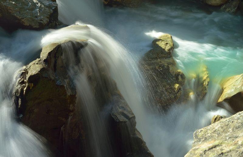 горы лето вода маруха водопад Водопадphoto preview
