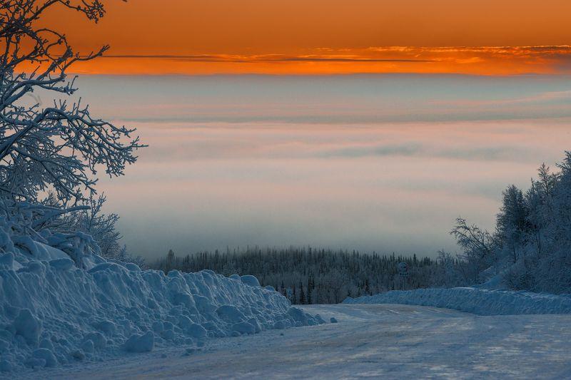 север, кольский, хибины, заполярье, имандра, Дороги Заполярья.photo preview