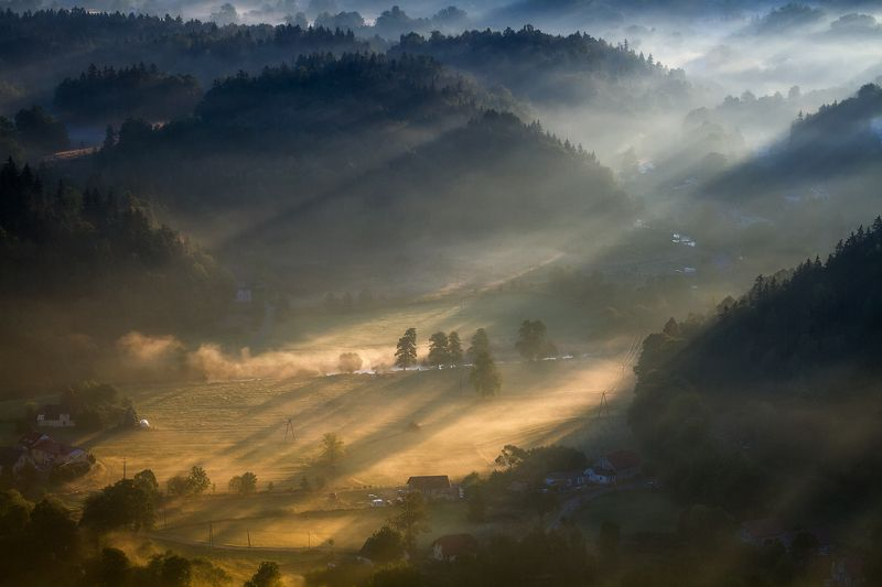 landscape,canon,mist,light,autumn Say Hello to the Sun.photo preview