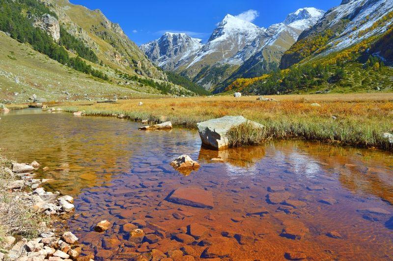 горы осень узункол мырды ручей Красный ручей,Узунколphoto preview