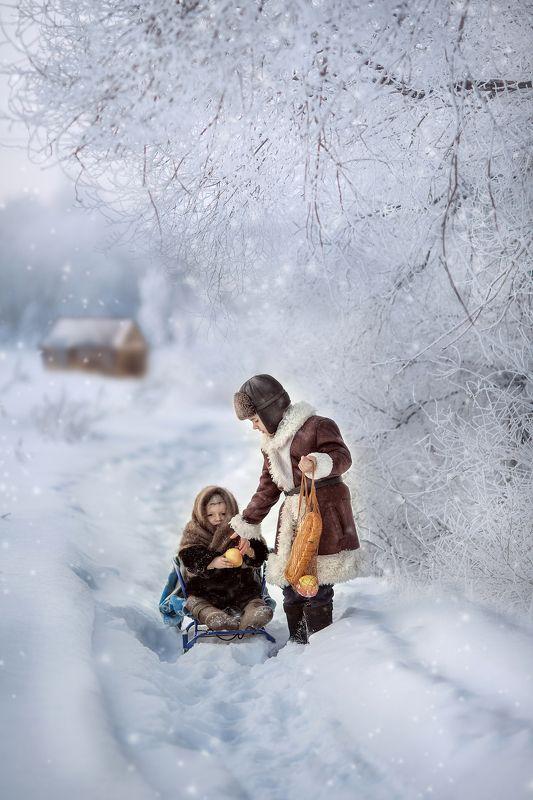 Снежная сказкаphoto preview