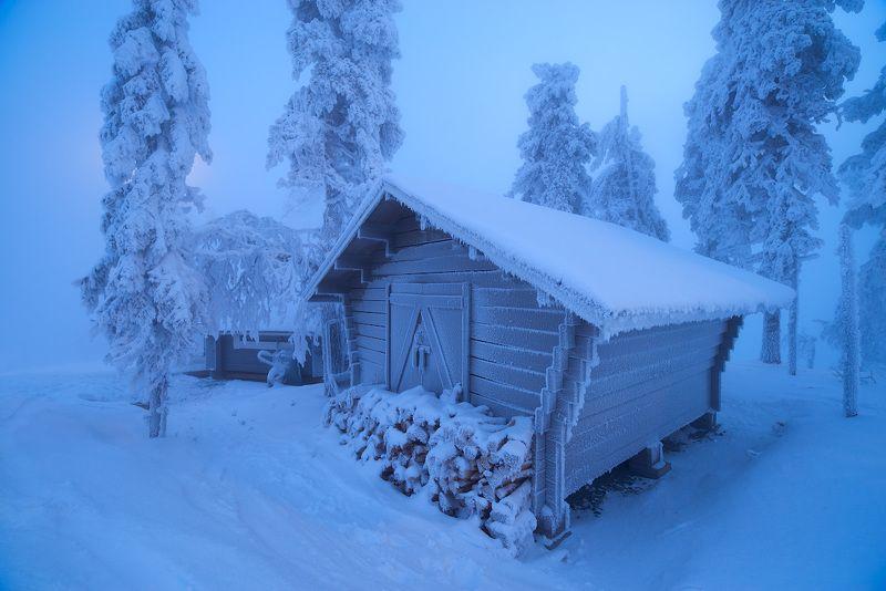 Заполярная зима.photo preview
