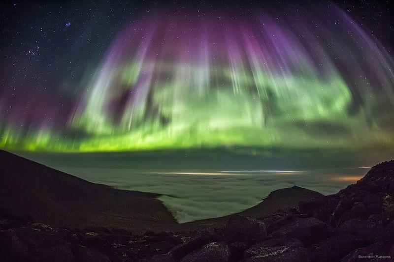 Хибины, сияние Выше облаковphoto preview