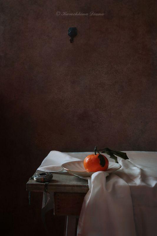 натюрморт, мандарин, календарь, 2019 Январский мандаринphoto preview