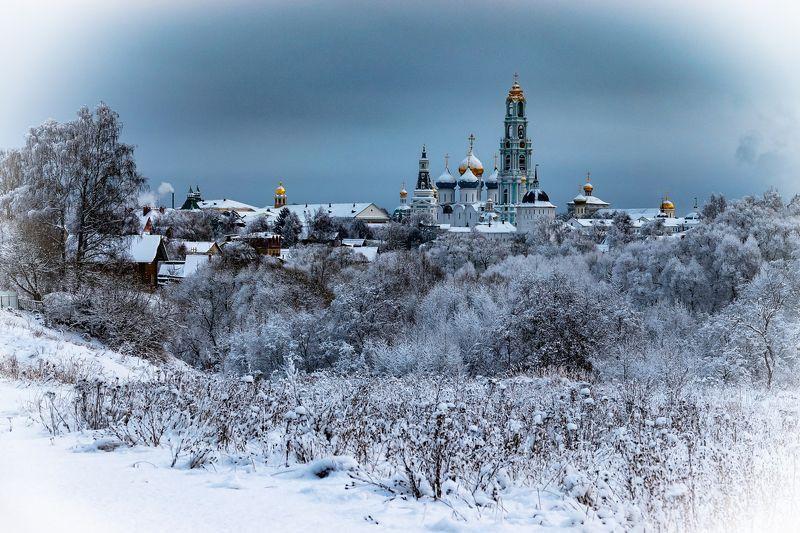 город Зимний Сергиев Пасадphoto preview