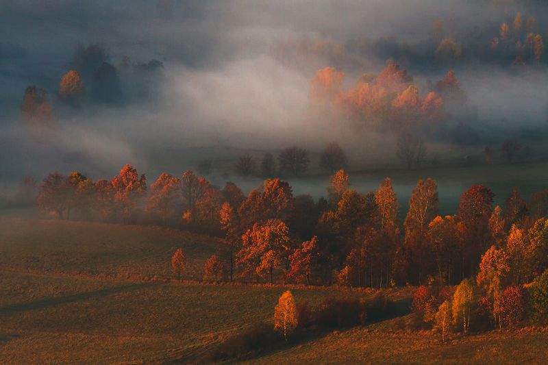 landscape,canon,mist,light,autumn As Autumn Brings Crispness to the Air.photo preview