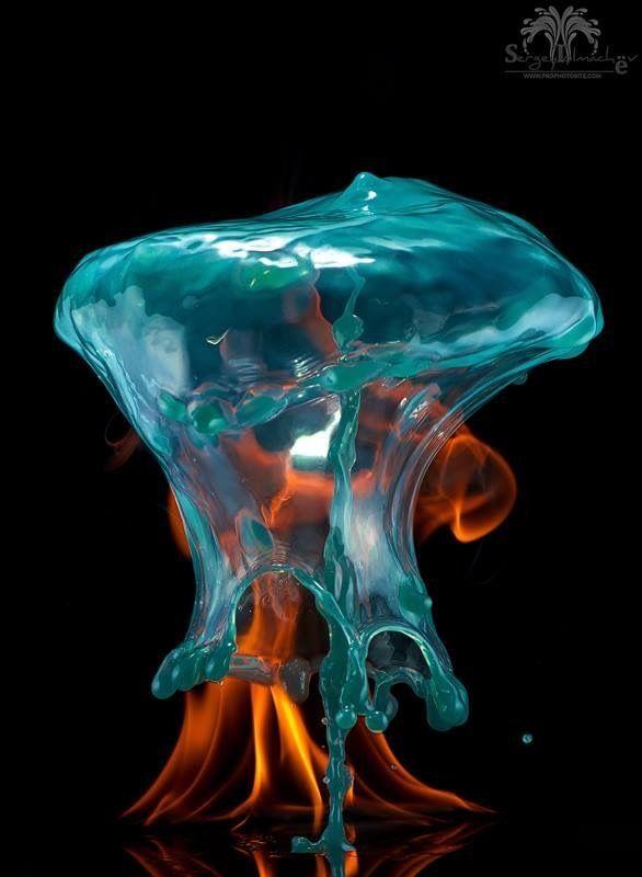 макро, вода, капли, брызги, сергейтолмачев, всплеск, liquid, liquidart, liquidartrussia, splash, art, arte water drop Из серии «Две стихии»photo preview