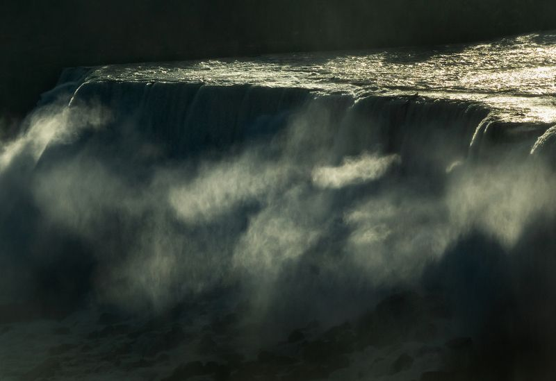 niagara falls, awakening, morning,ниагарский водопад, пробуждение, утро Niagara awakeningphoto preview