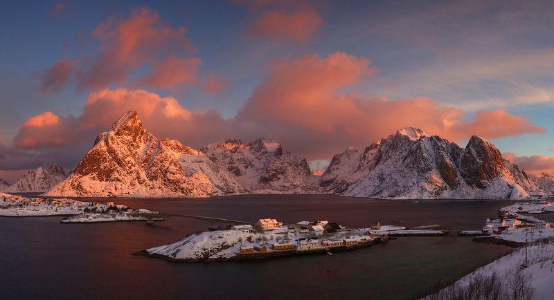 лофотенские острова, норвегия Sakrisøyphoto preview