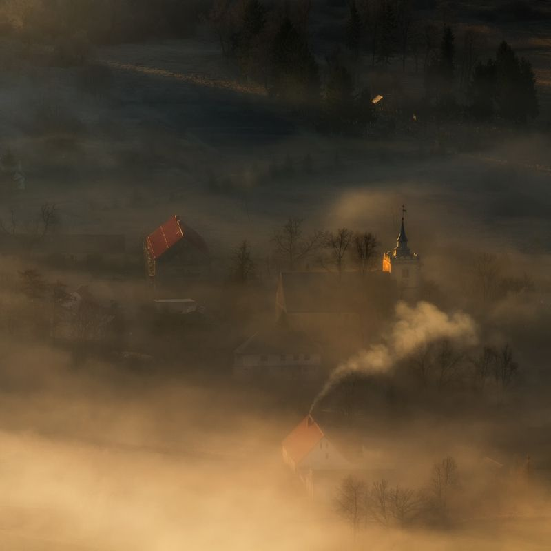 landscape,canon,mist,light,autumn After the Dark is Chased Away...photo preview
