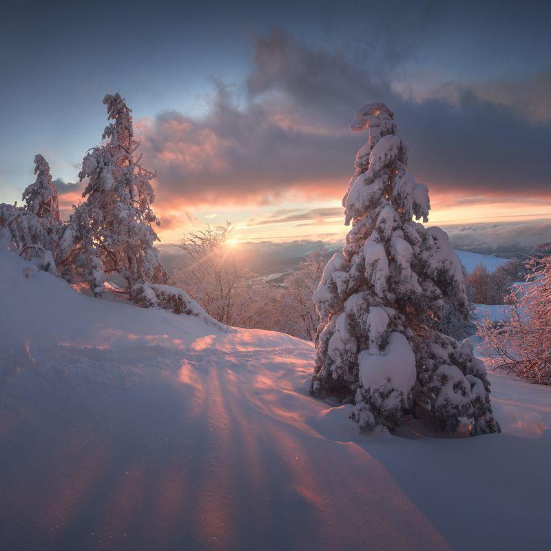 крым, демерджи, южная демерджи, северная демерджи, долина привидений, зима Южный Снегphoto preview