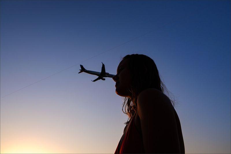 самолет ***photo preview
