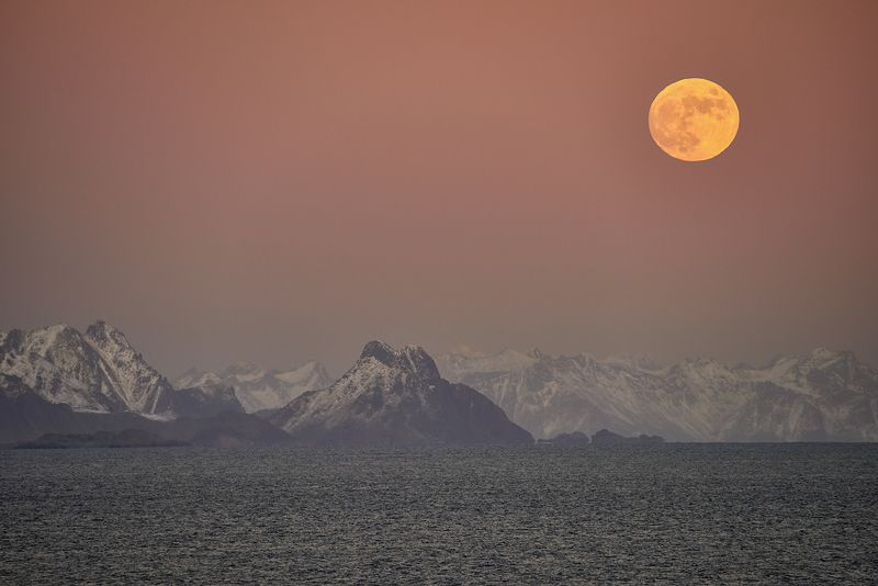 norway, lofoten, island, sea With a view of the Lofoten Islandsphoto preview