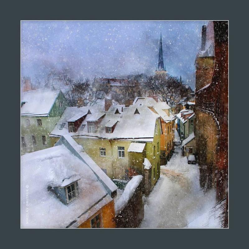 город снег в Таллиннеphoto preview