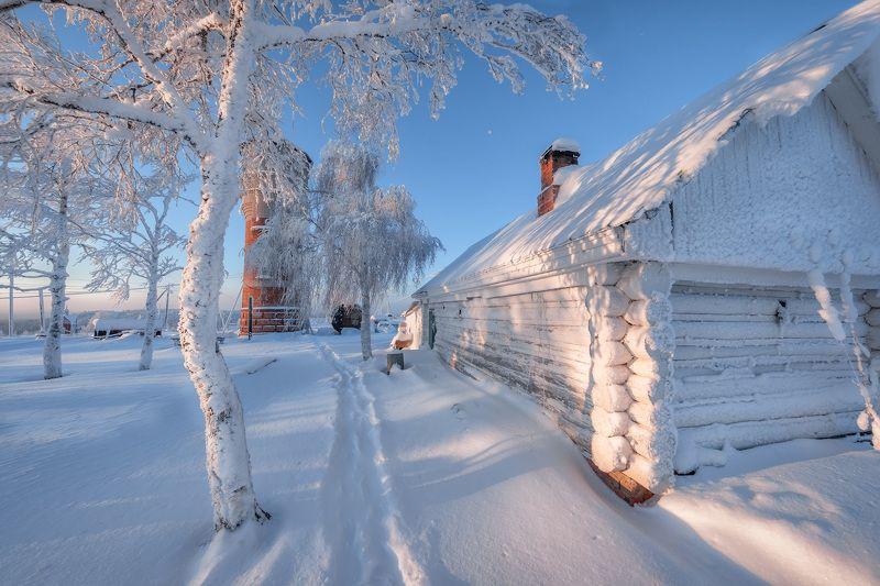 белая гора, зима, солнце, рождество, снег, мороз, метель, пурга, холод, белый, утро, рассвет Владения зимыphoto preview