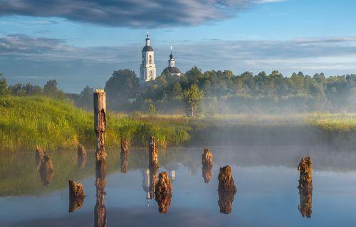 Рассвет на Медном озере