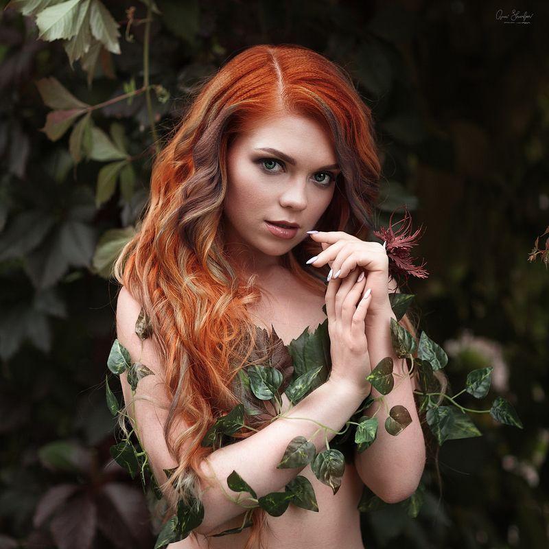портрет красота девушка арт Плющphoto preview