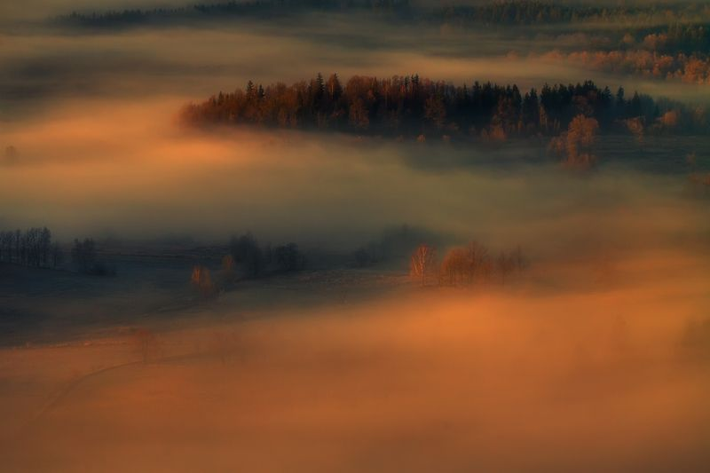 landscape,canon,mist,light,autumn It Will Be a Day Like no Other.photo preview
