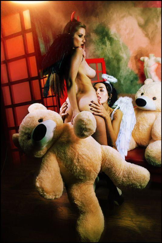 lucastudio, nude Teddy Bear ©photo preview
