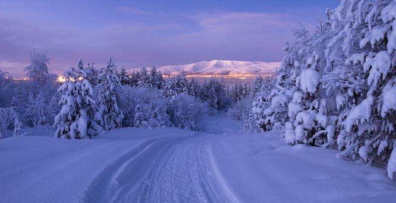 пейзаж,апатиты,кольский,север,россия,дорога,горы,хибины,tamron,canon Вечерние Апатитыphoto preview