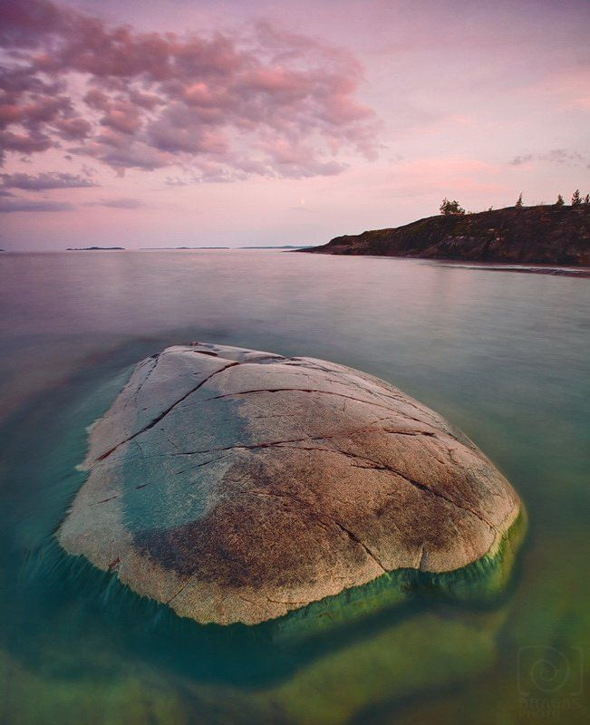 камень, гранит, черепаха, карелия, ладога, озеро Одинокая скала.photo preview