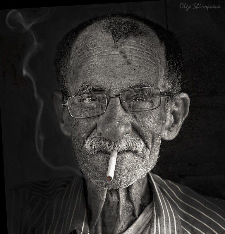 Курильщик. фото превью