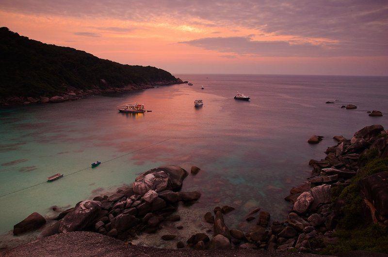 закат, семиланы Закат на Семиланахphoto preview