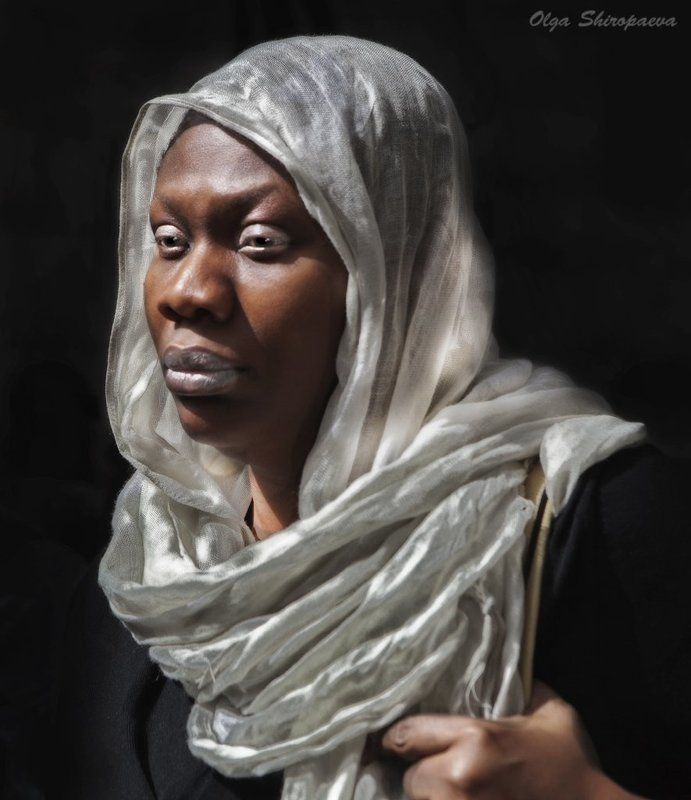 иерусалим, старый, город, женщина Портрет женщины. фото превью