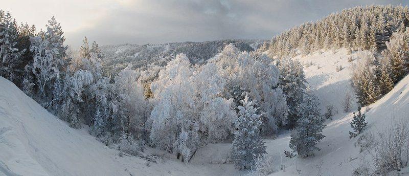 Зимние пейзажиphoto preview