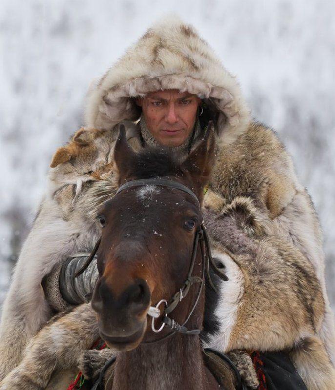 конан, зима, снег Конанphoto preview
