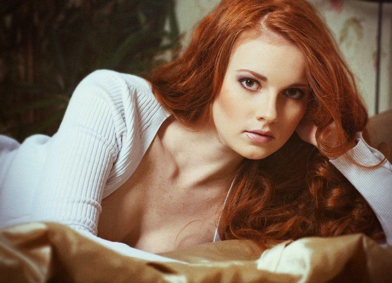 redhead, red hair, beauty, anqelique Анжеликаphoto preview
