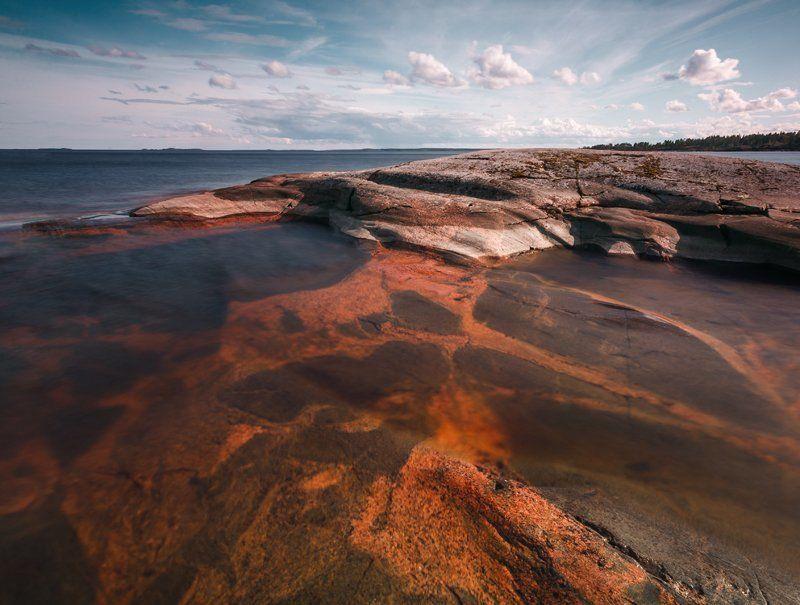 карелия, ладожское озеро, гранит ***photo preview