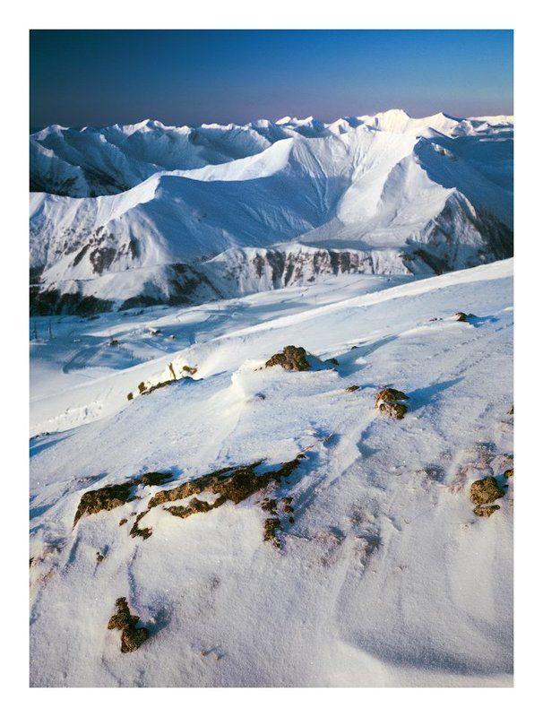 горы, грузия, гудаури, кудеби, рассвет _________photo preview