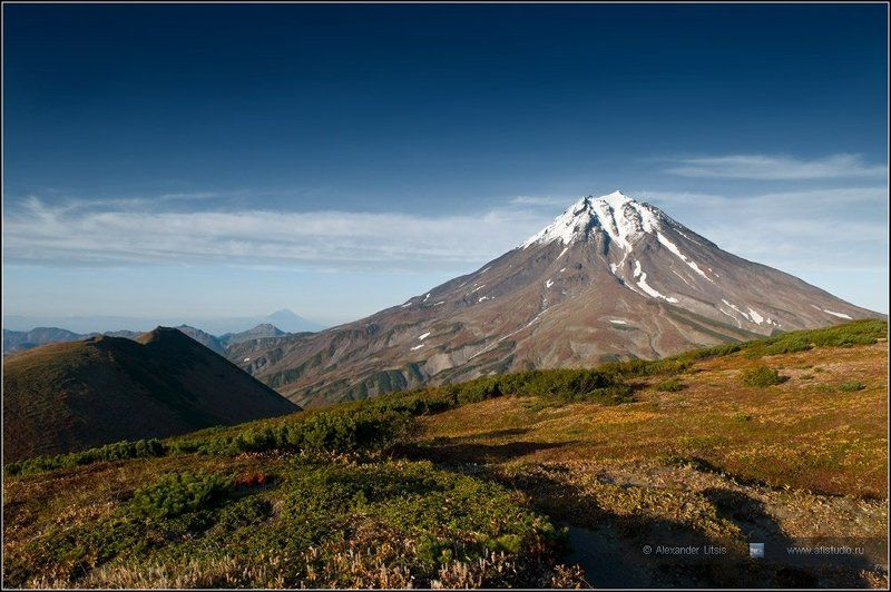 горы, вулкан, вилючинский, вершина, камчатка Вершина IIIphoto preview