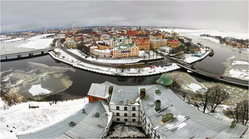 выборг, выборгский замок ~ Vyborg ~photo preview
