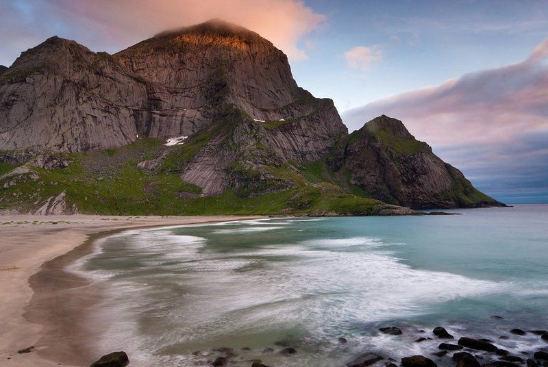 pentax, norway, mountains, nordland, bunes, islands, k20d ***photo preview