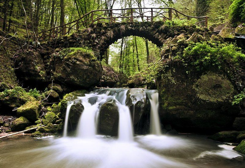 luxembourg, cascades,  mullerthal Mullerthal cascadesphoto preview