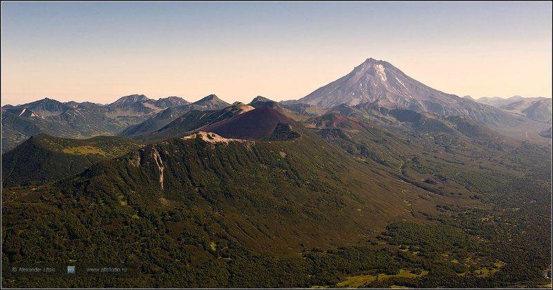 горы,вершины,вулкан,вилючинский,камчатка Бархатнаяphoto preview