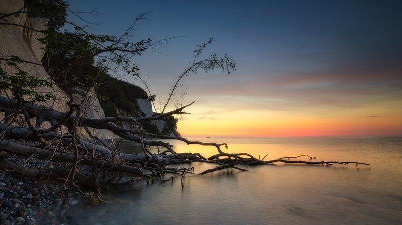 море,утро Балтийский берегphoto preview